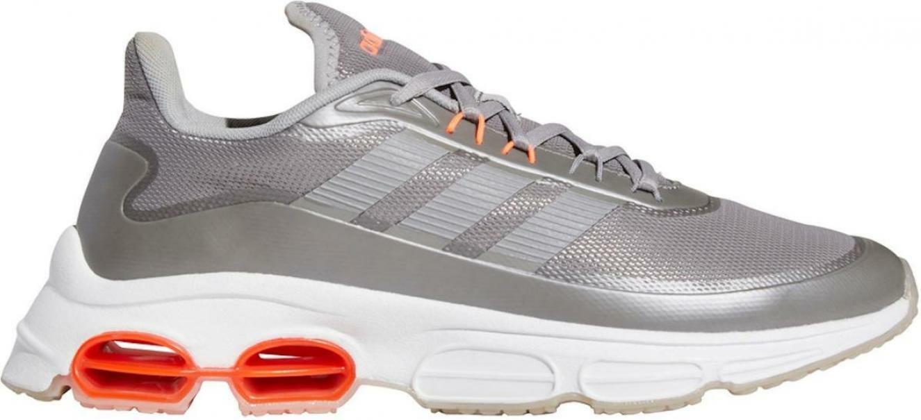 adidas adidas quadcube uomo eg4391 grigio scarpa da corsa da uomo