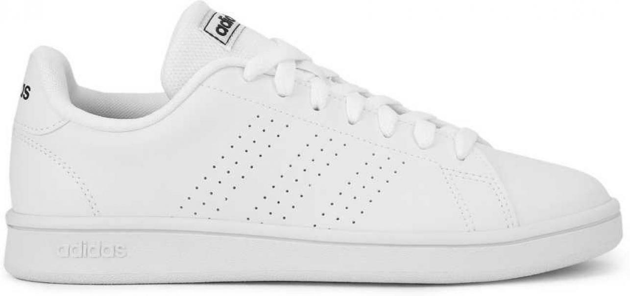 adidas adidas advantage base ftwwht/trablu uomo ee7691  bianco