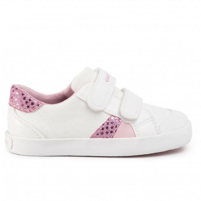 geox geox sneakers bambina white pink b021mc 010qd c0406 bianco rosa