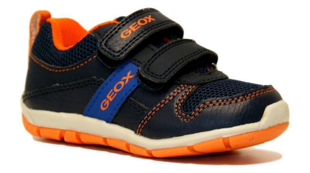 geox geox strappo sportivo navy orange b023xa 0fe14 c0659 blu arancione