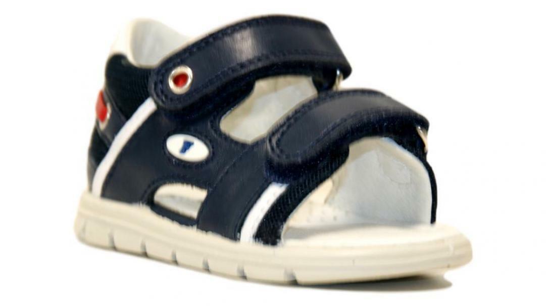 falcotto falcotto sandalo bambino   navy 1500822 01 0c02 blu