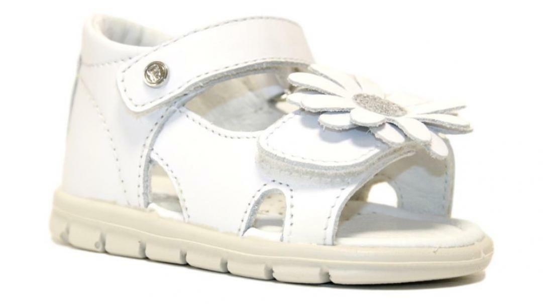 falcotto falcotto sandalo bambina 1500841 01 0n01 bianco
