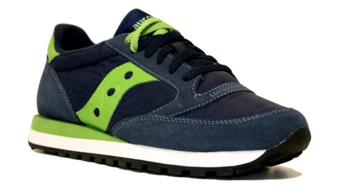saucony saucony sneakers jazz nvy/grn  s2044-336 blu verde
