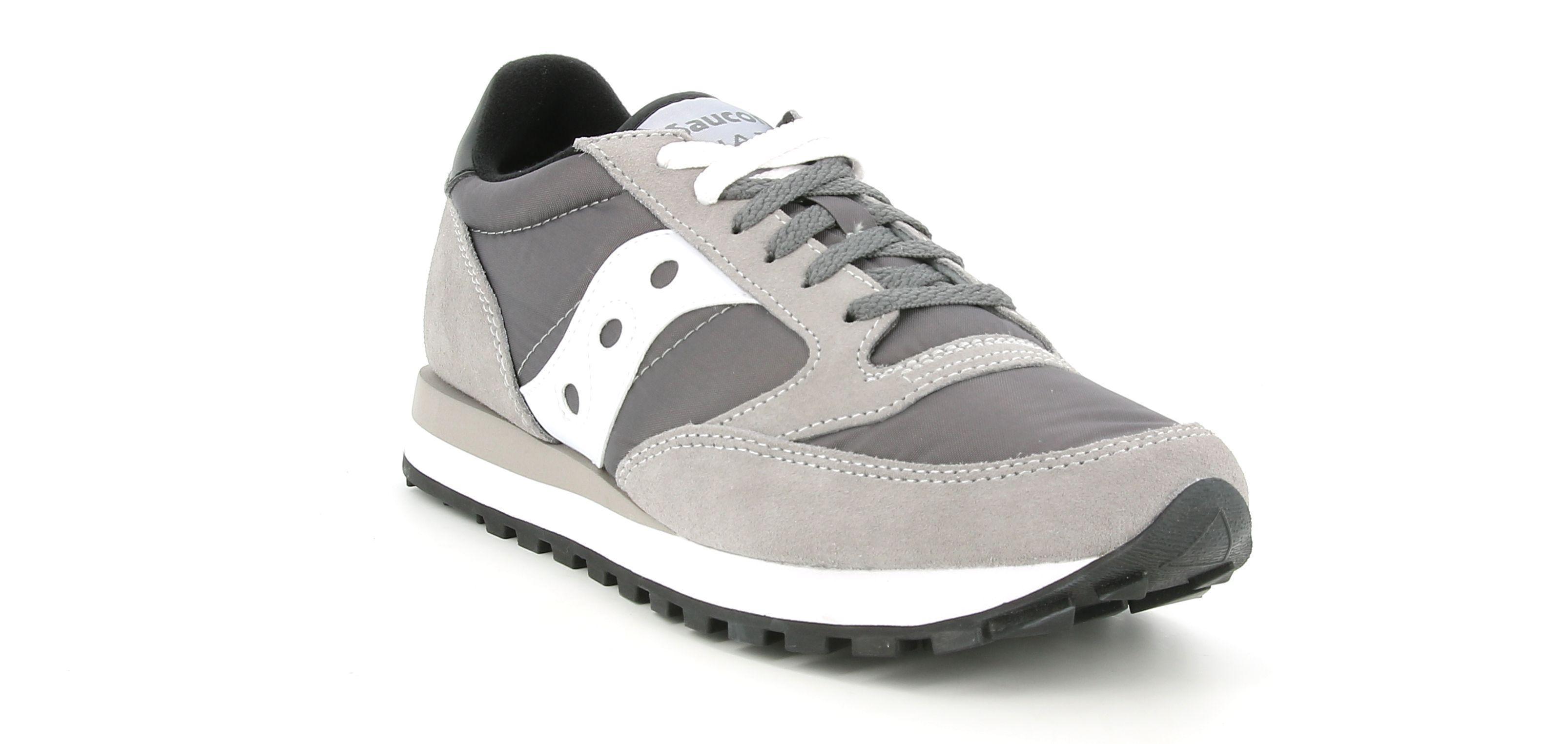 saucony saucony sneakers dk grey/white  s2044-553 grigio