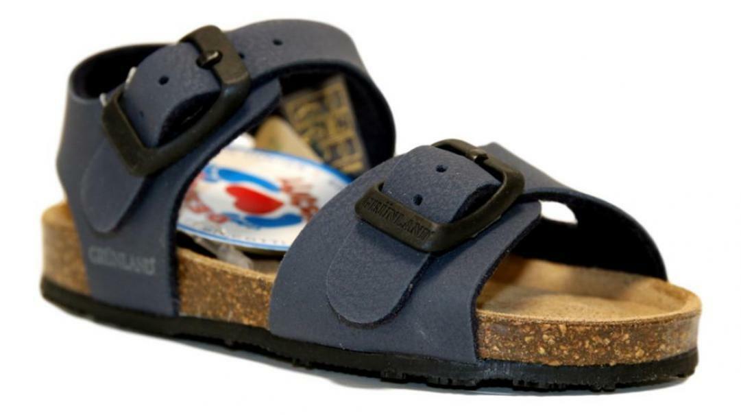 grunland grunland sandalo bimbo 20/28 sb0413 40afre blu