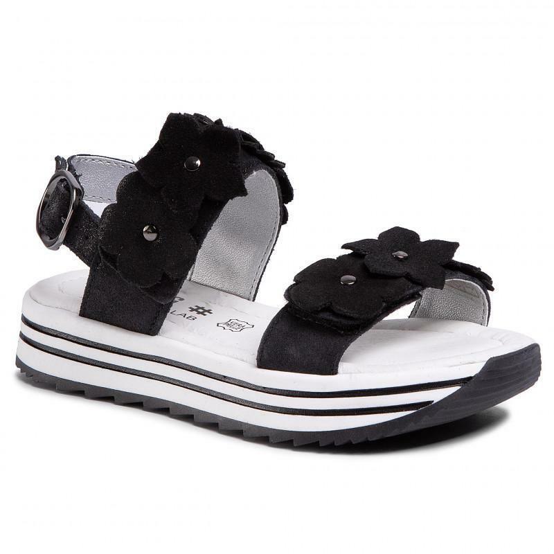 primigi primigi sandalo bambina 5435322 nero sandalo para