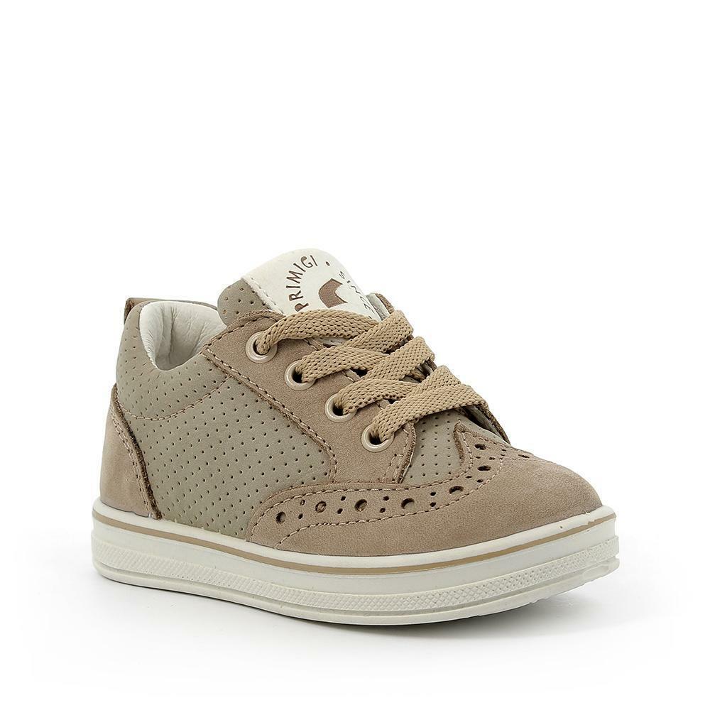 primigi primigi sneakers bambina 5358900 beige stringata