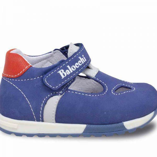 balocchi balocchi sandalo bambino 492384 blu sandalo occhietto