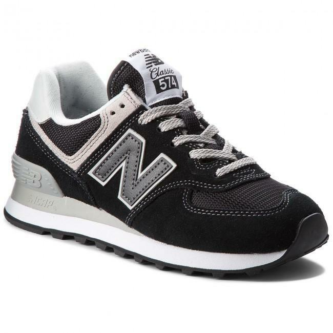 new balance new balance sportivo ml574egk nero scarpe sportive uomo