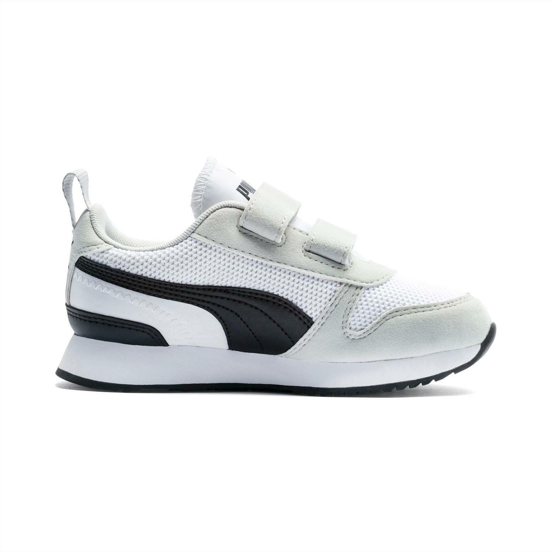 puma puma r78 v ps bambino 373617 002 bianca scarpa sportiva