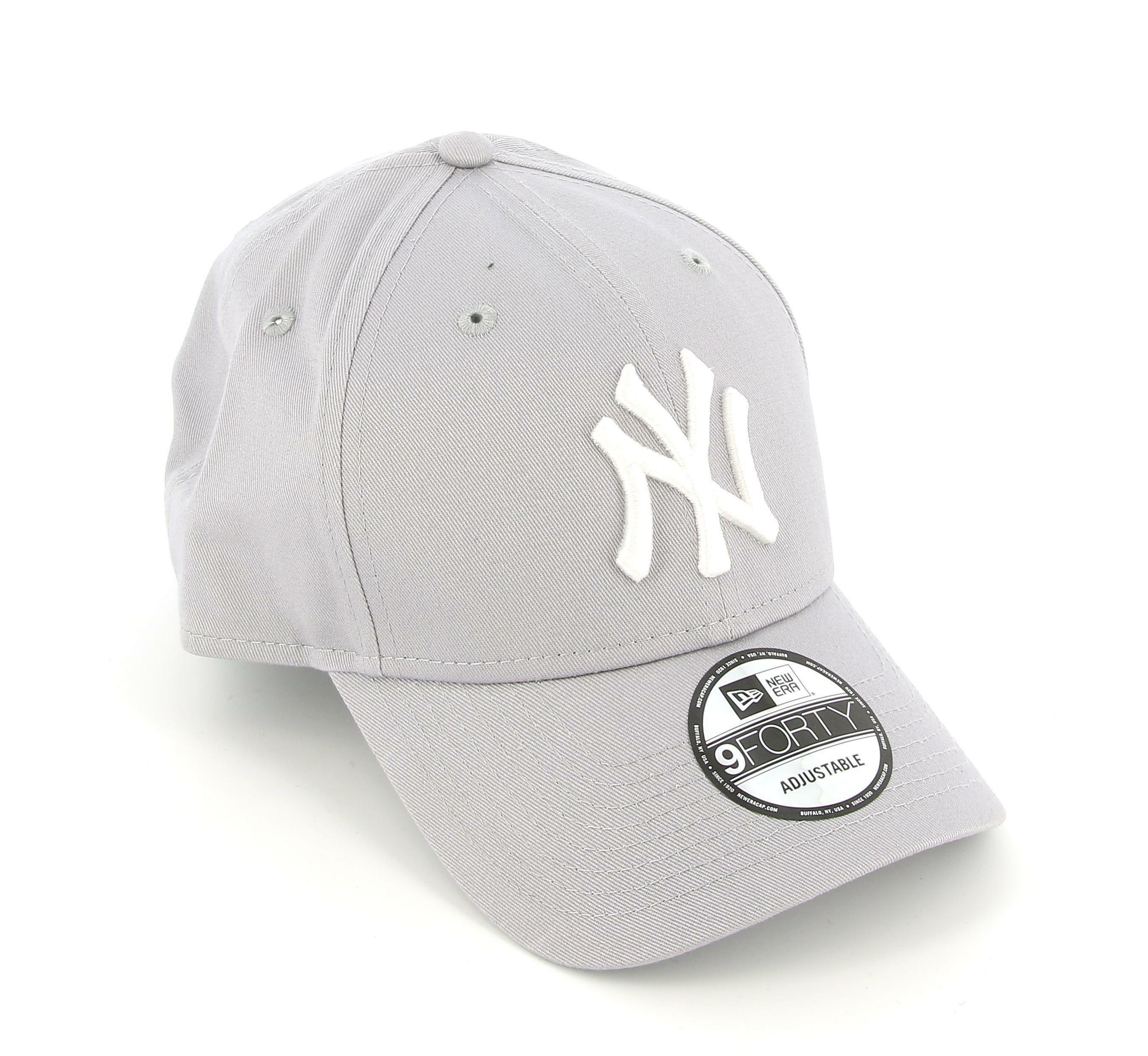 new era new era 10531940 cappello unisex gray/white