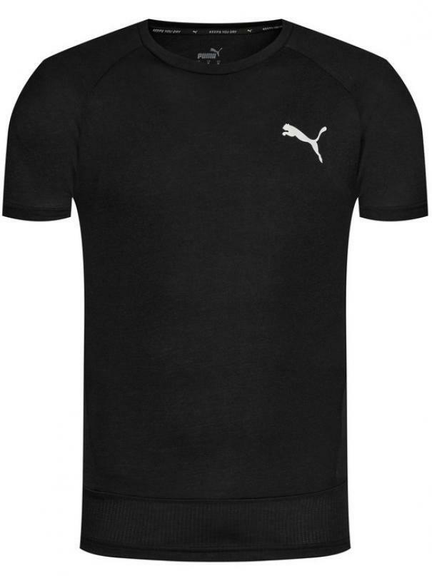 puma puma t-shirt 583462 001 nero manica corta uomo
