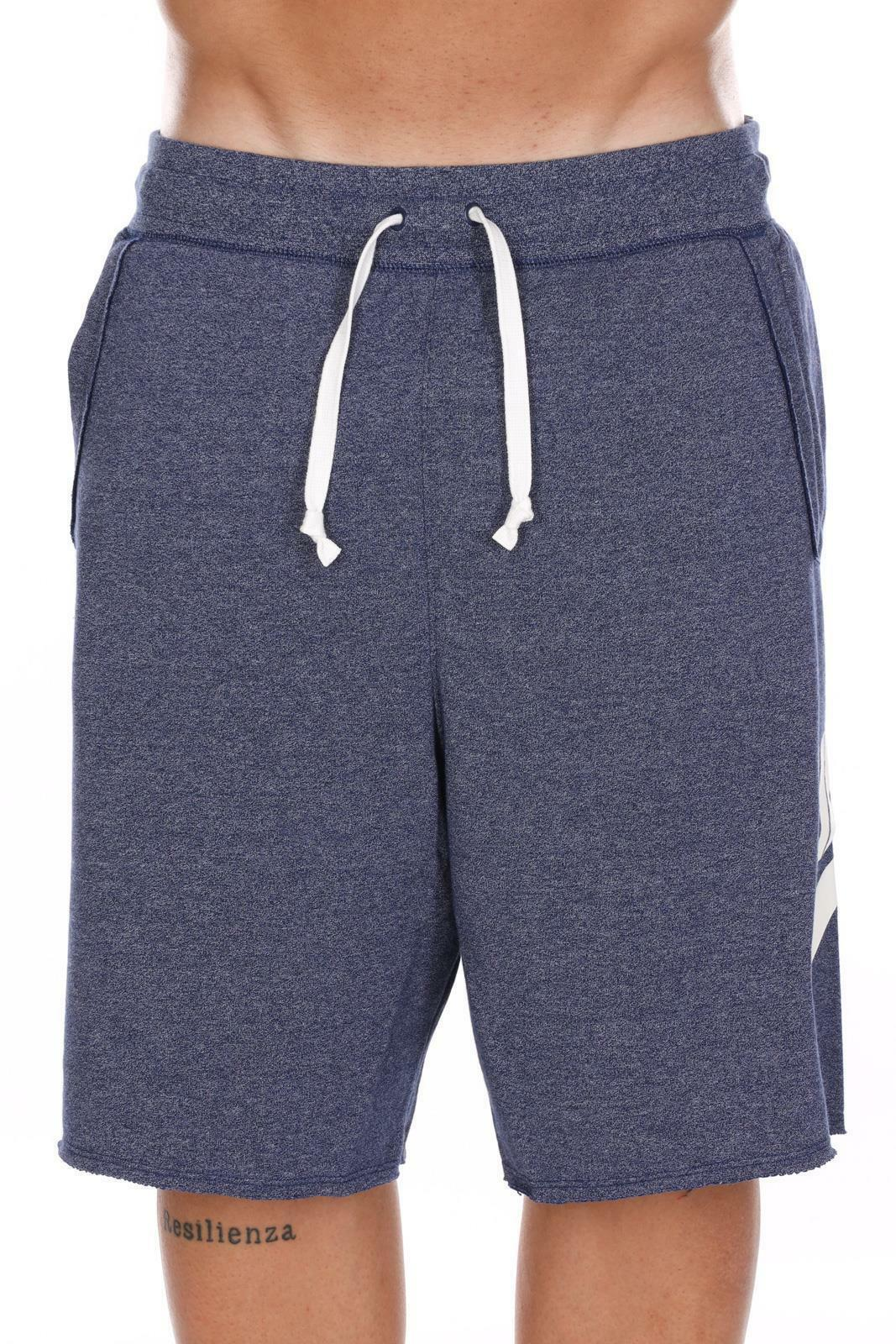nike nike short ar2375 494 blu pantaloncini uomo
