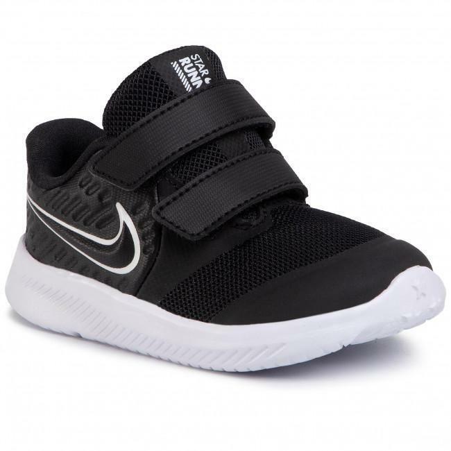 nike nike star runner 2 (tdv) at1803 001 nero sneakers unisex bambino