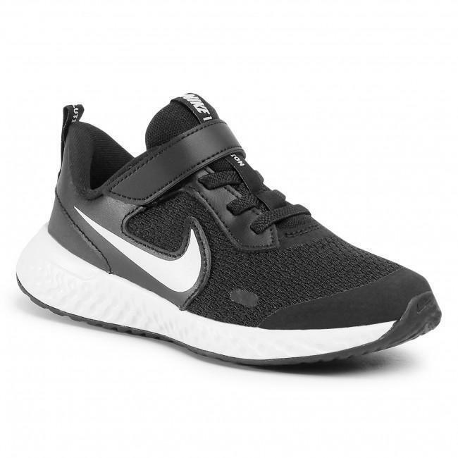 nike nike revolution 5 (psv) bq5672 003 nero scarpe da corsa unisex bambino