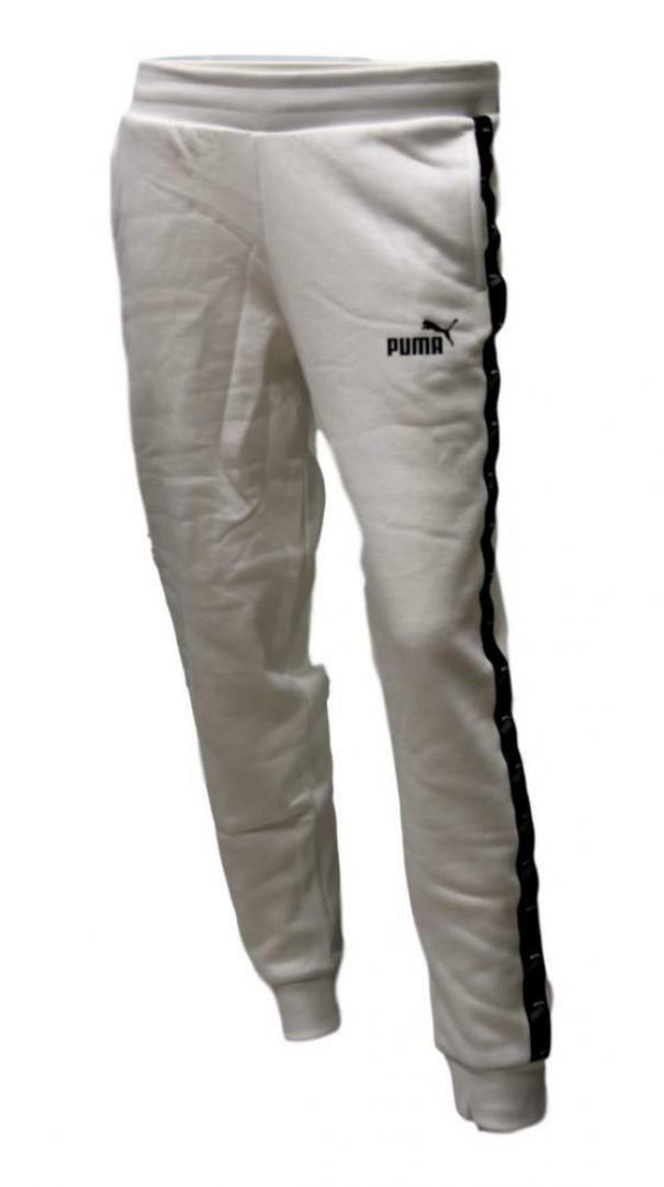 puma puma pant 583620 002 bianco pantaloni donna