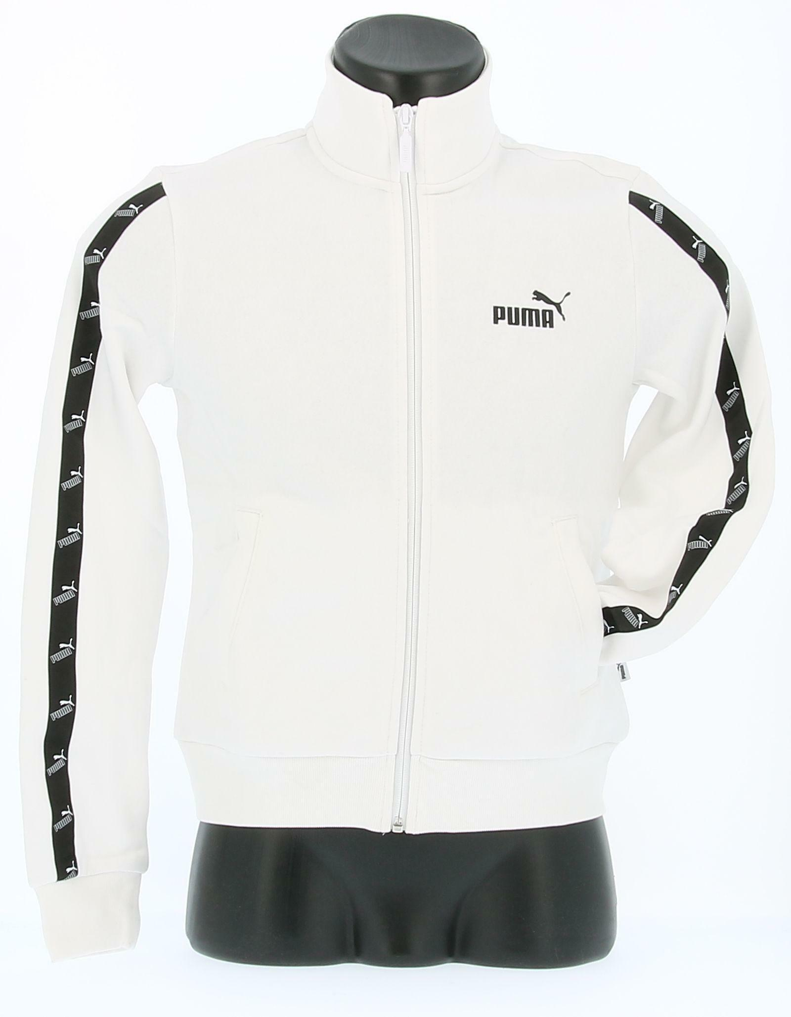 puma puma felpa 583622 002 bianco hoodie donna