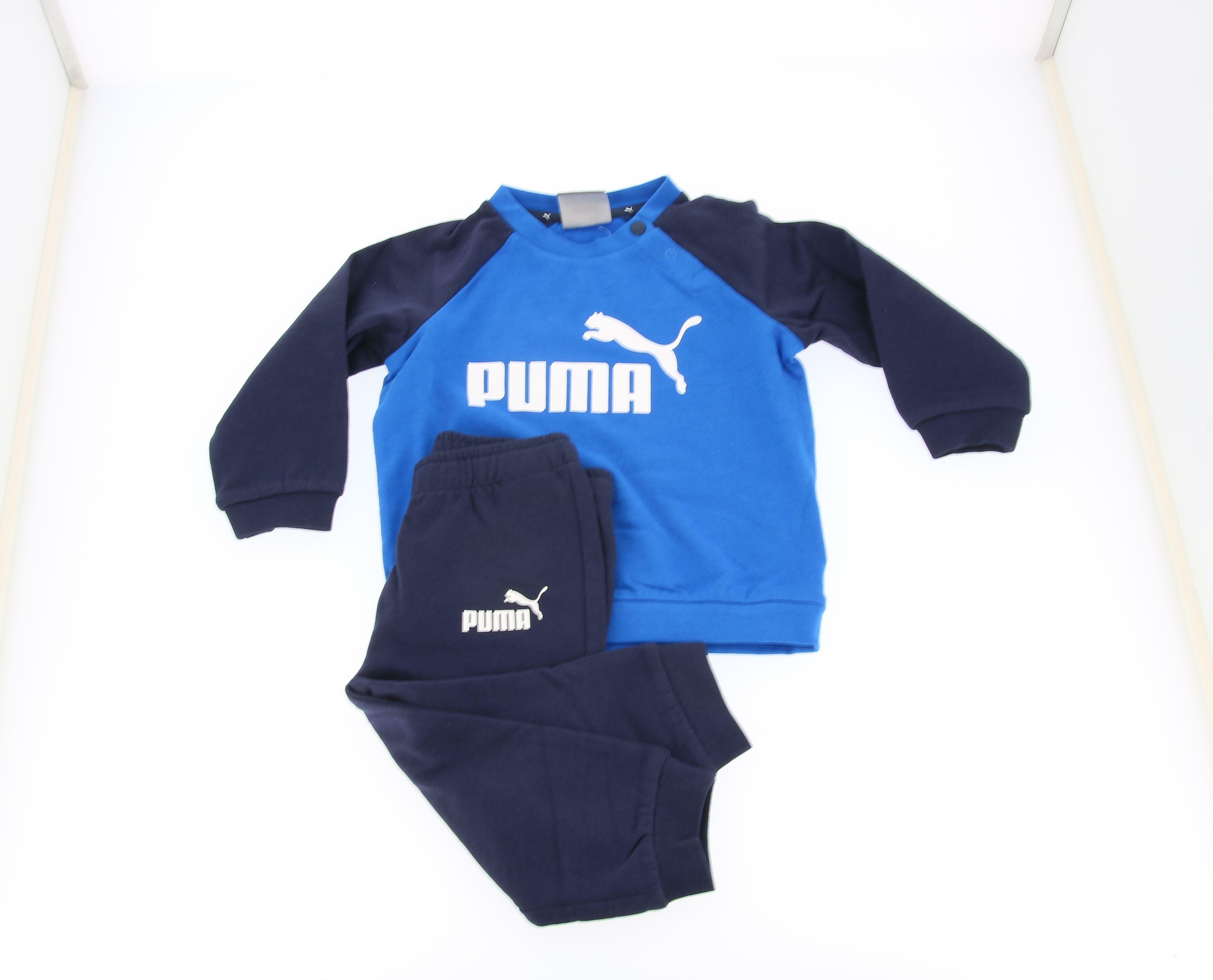 puma puma tuta 584861 006 blu tuta completa bambino