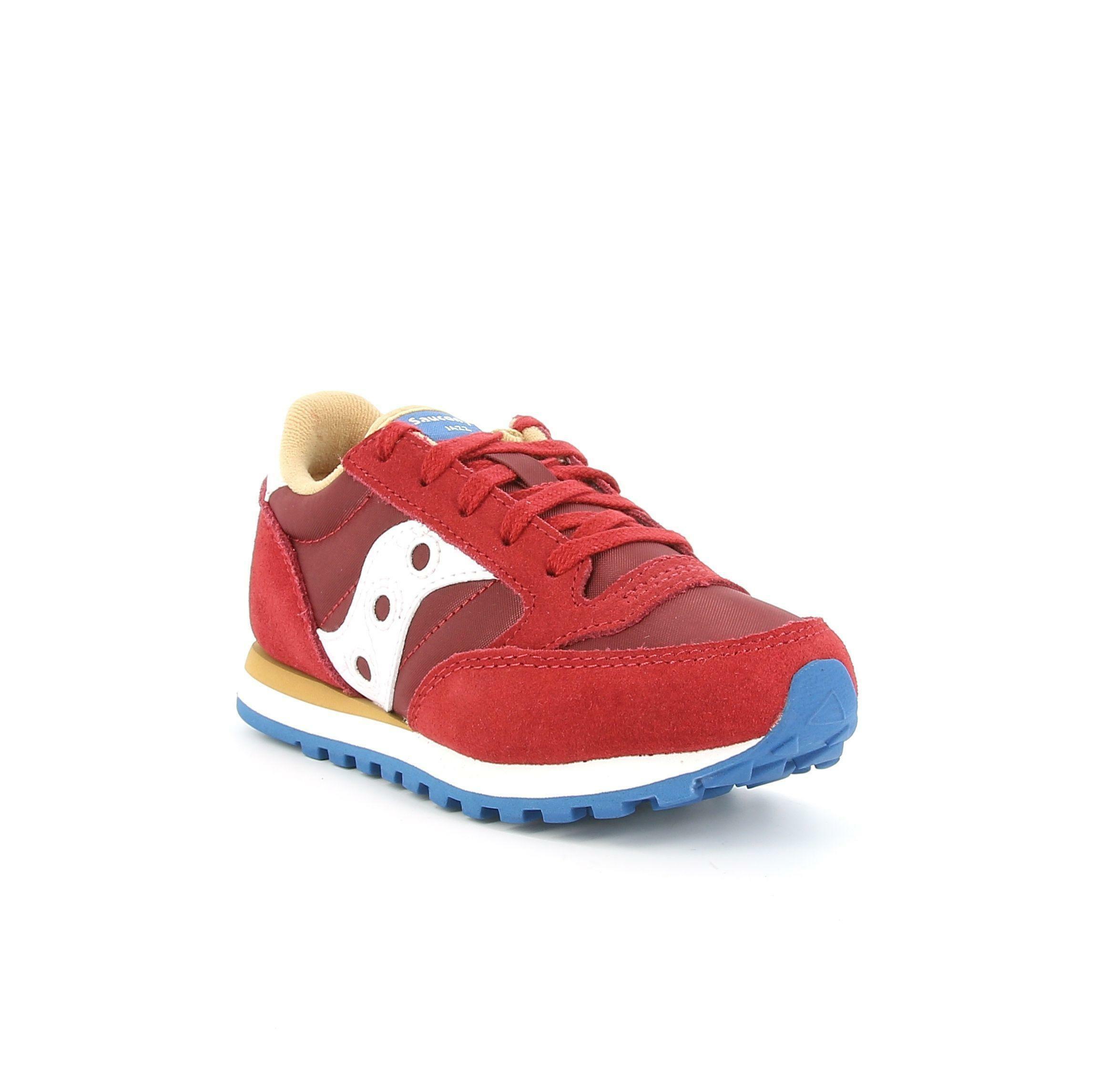 saucony saucony sneakers sk263318 bordeaux sneakers bambino bordeaux