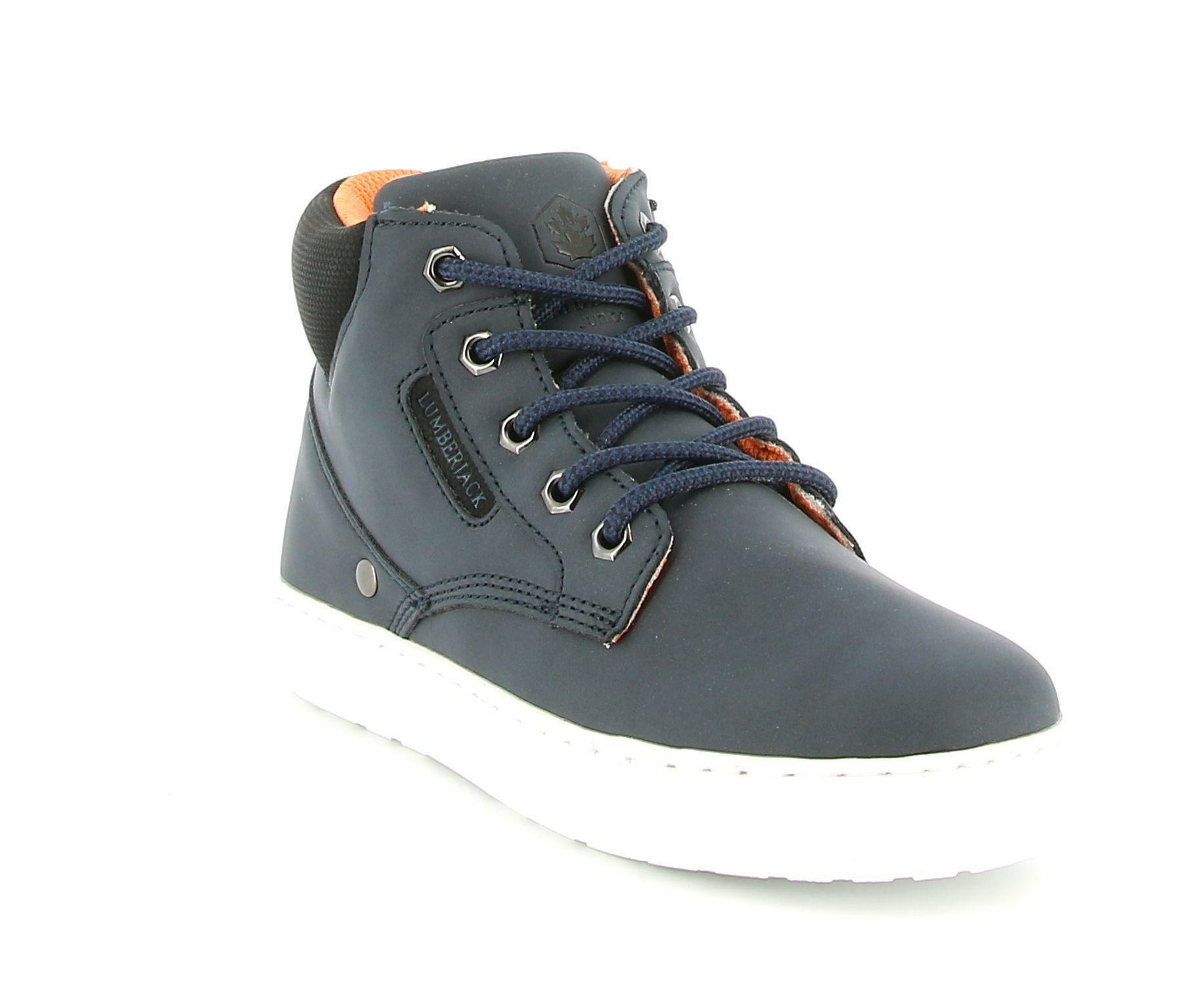 lumberjack lumberjack sb64601-003 s03 sneakers king sneakers alta bambino blu