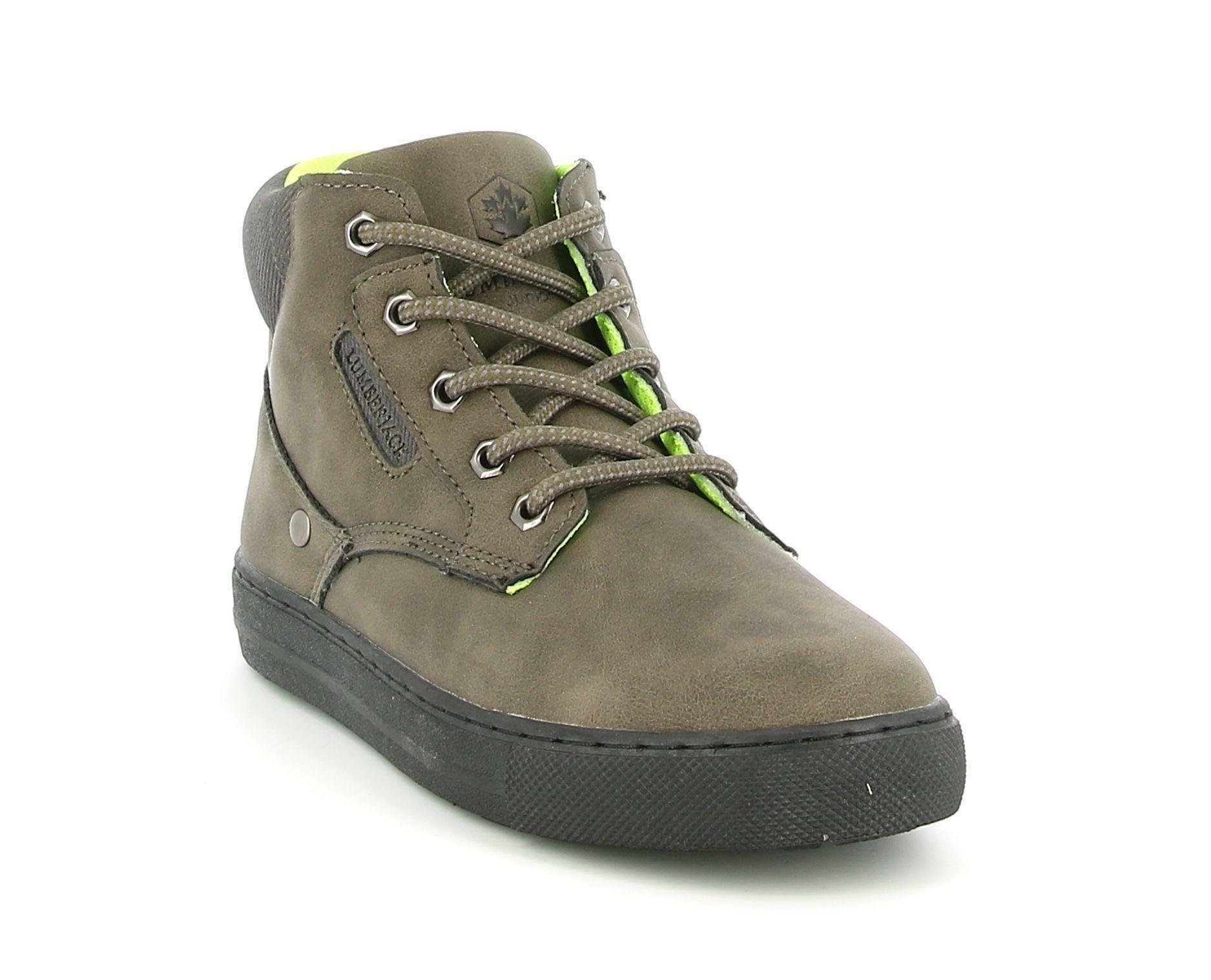 lumberjack lumberjack sb64601-003 s03 sneakers king sneakers alta bambino verde
