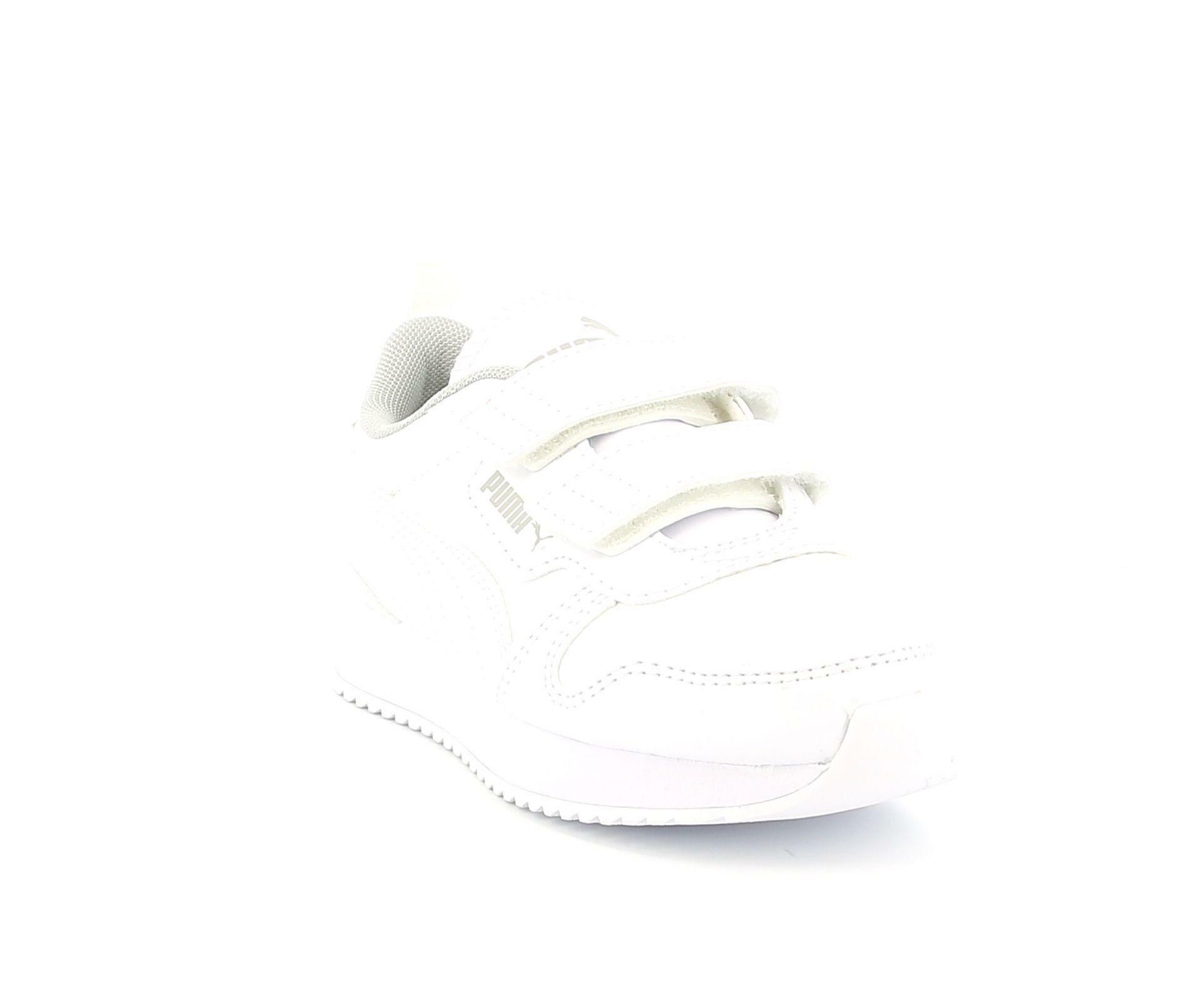 puma puma r78 sl v ps scarpa sportiva 374429 002 da bambino bianco