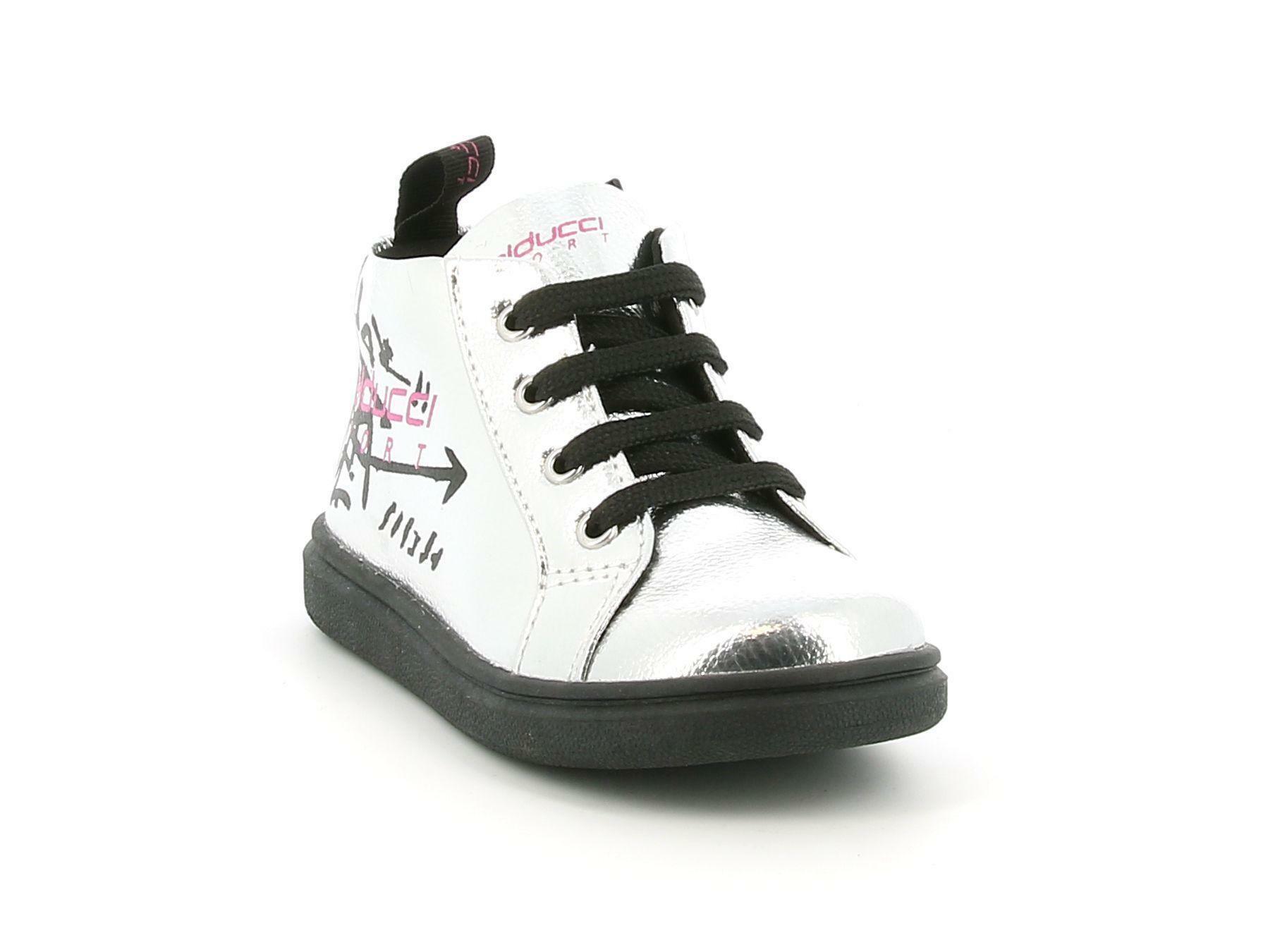 balducci balducci sneakers bs1661 argento sneakers alta bambina