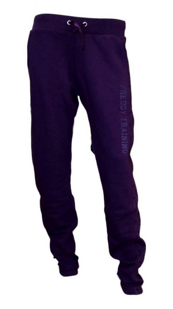freddy freddy pants f0wtrp4 viola pantaloni donna