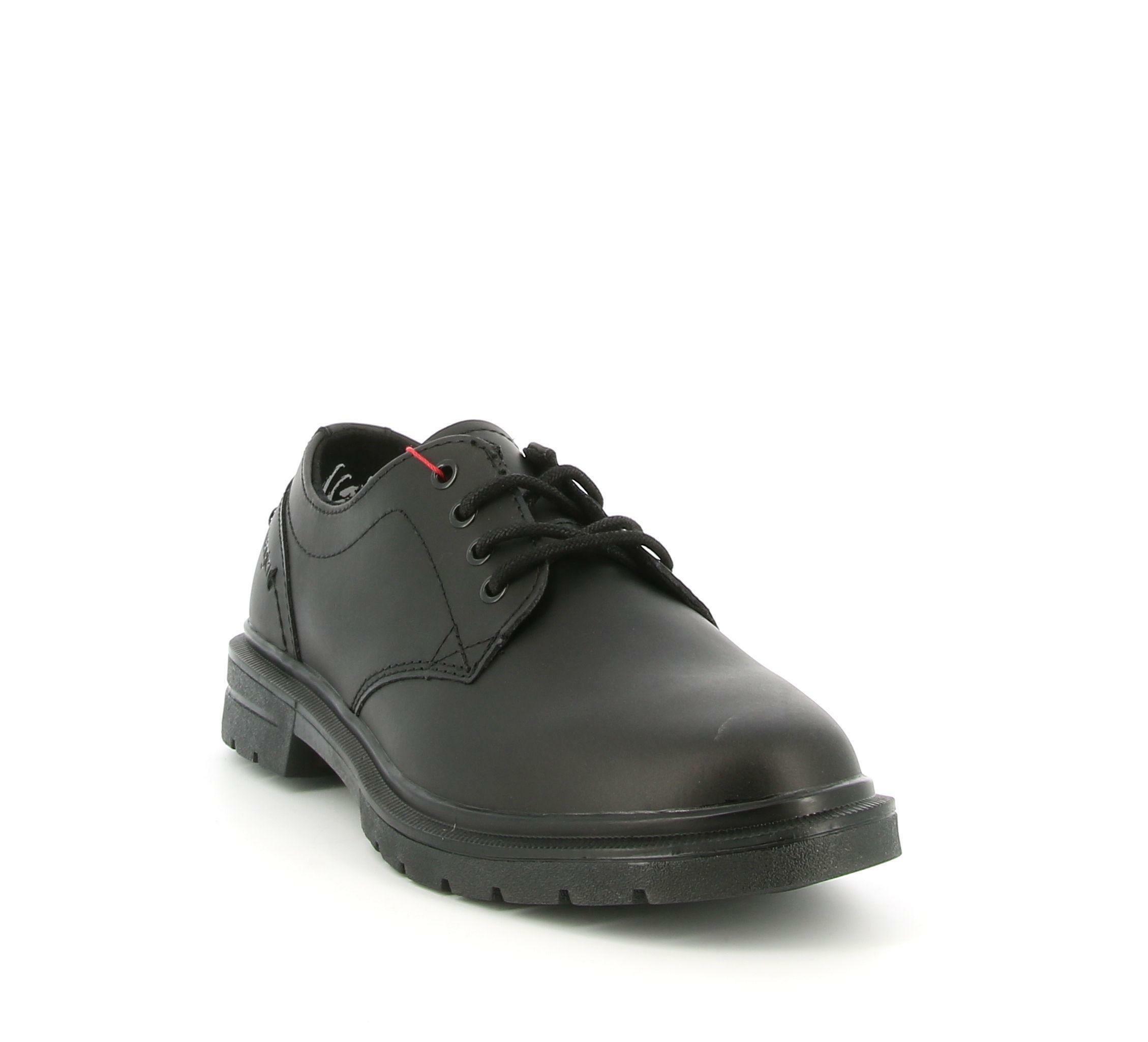 wrangler wrangler spike derby wm02042a scarpa allacciata  uomo nero