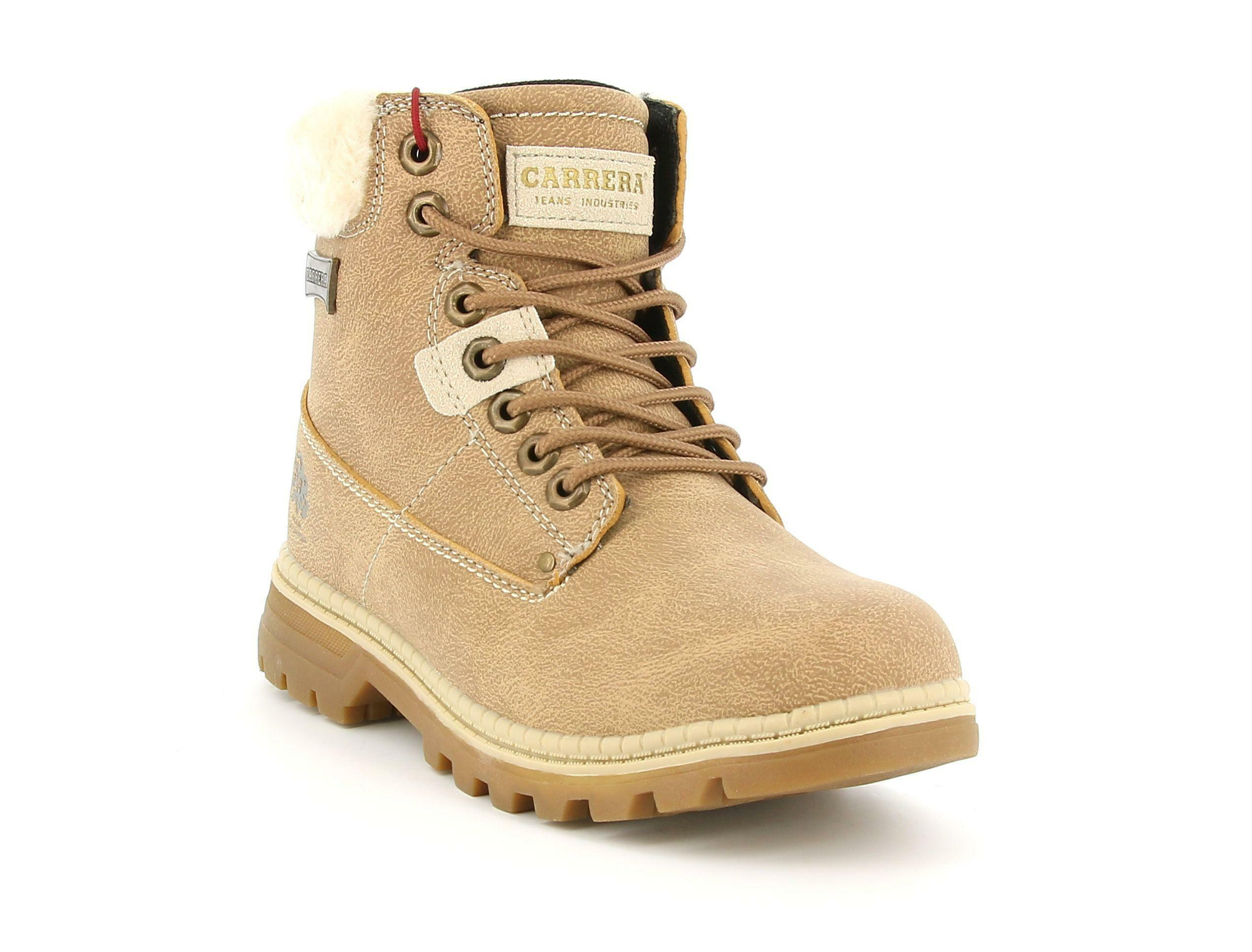 carrera carrera scarponcino 021052 cappuccino scarpe donna