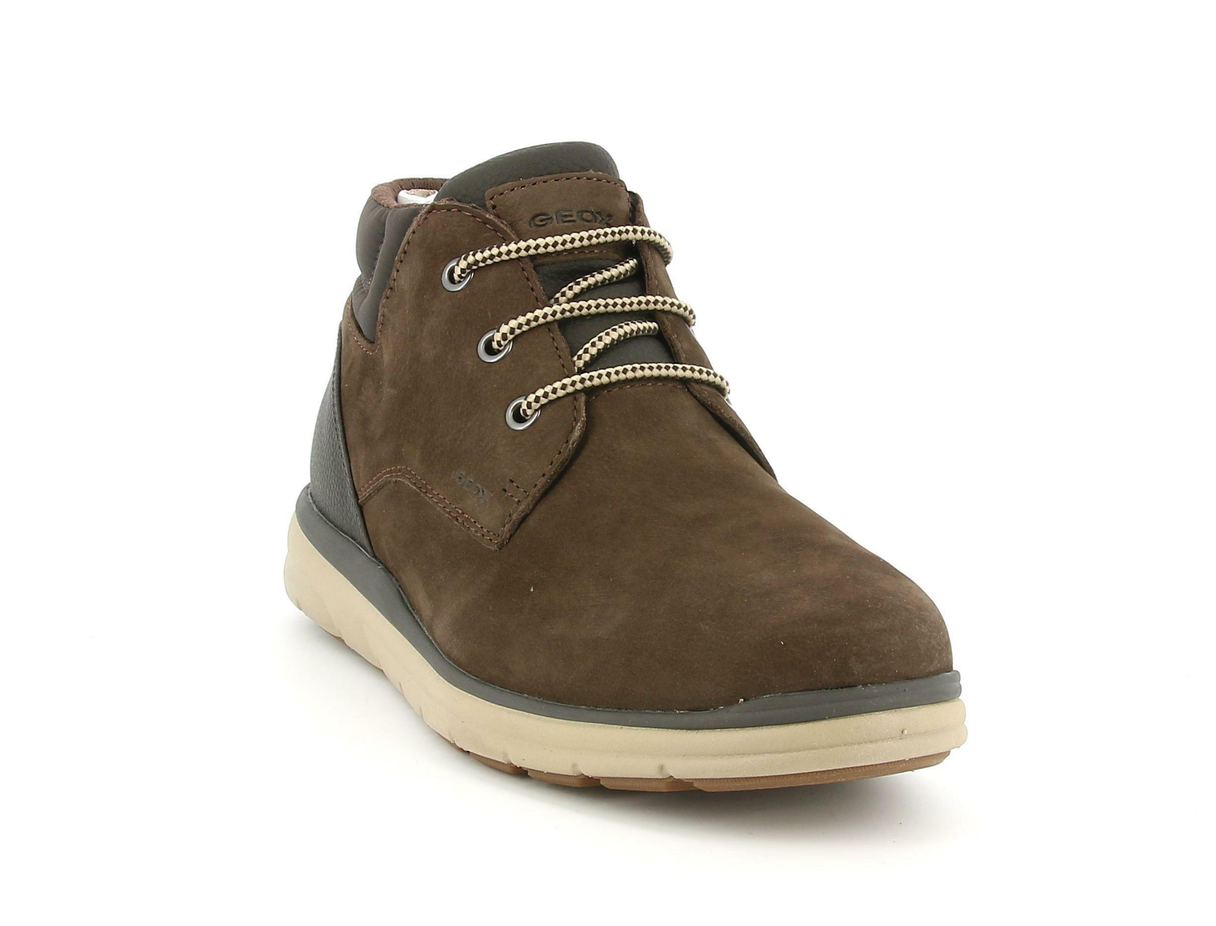 geox geox sneakers u hallson a u045ua 0ltbu c6009 da uomo marrone