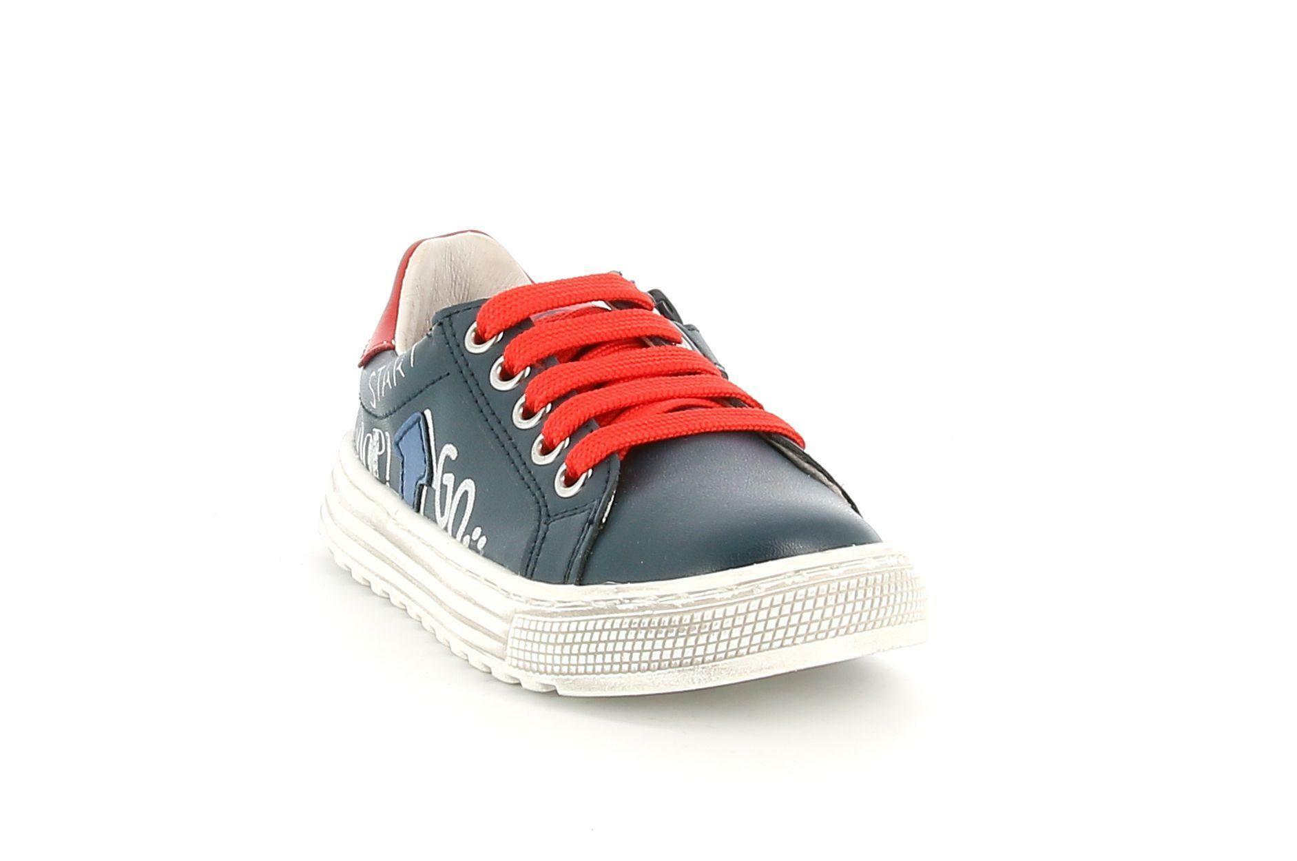 naturino naturino  2015475 01 1c23 blu rosso sneakers bassa bambino