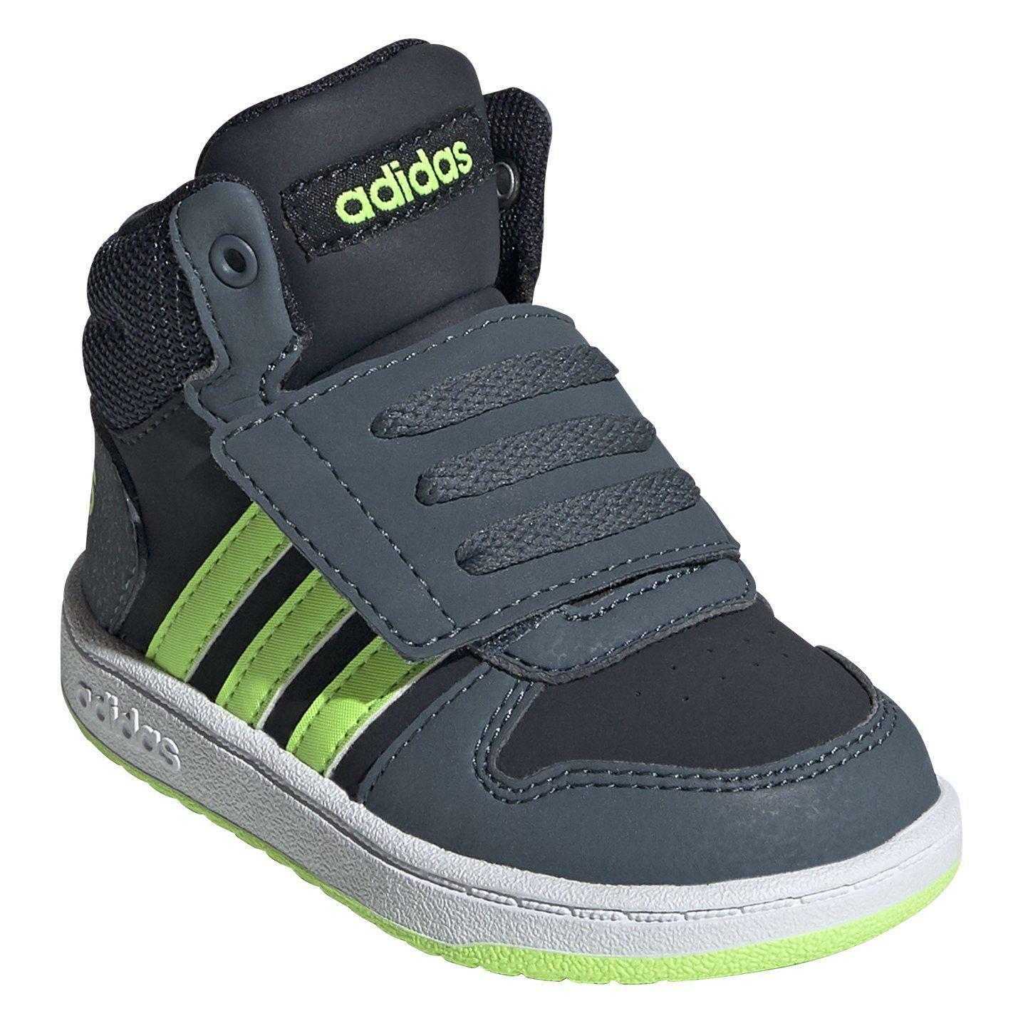 adidas adidas hoops mid 2.0 i fw4921 blu scarpe da ginnastica bambino