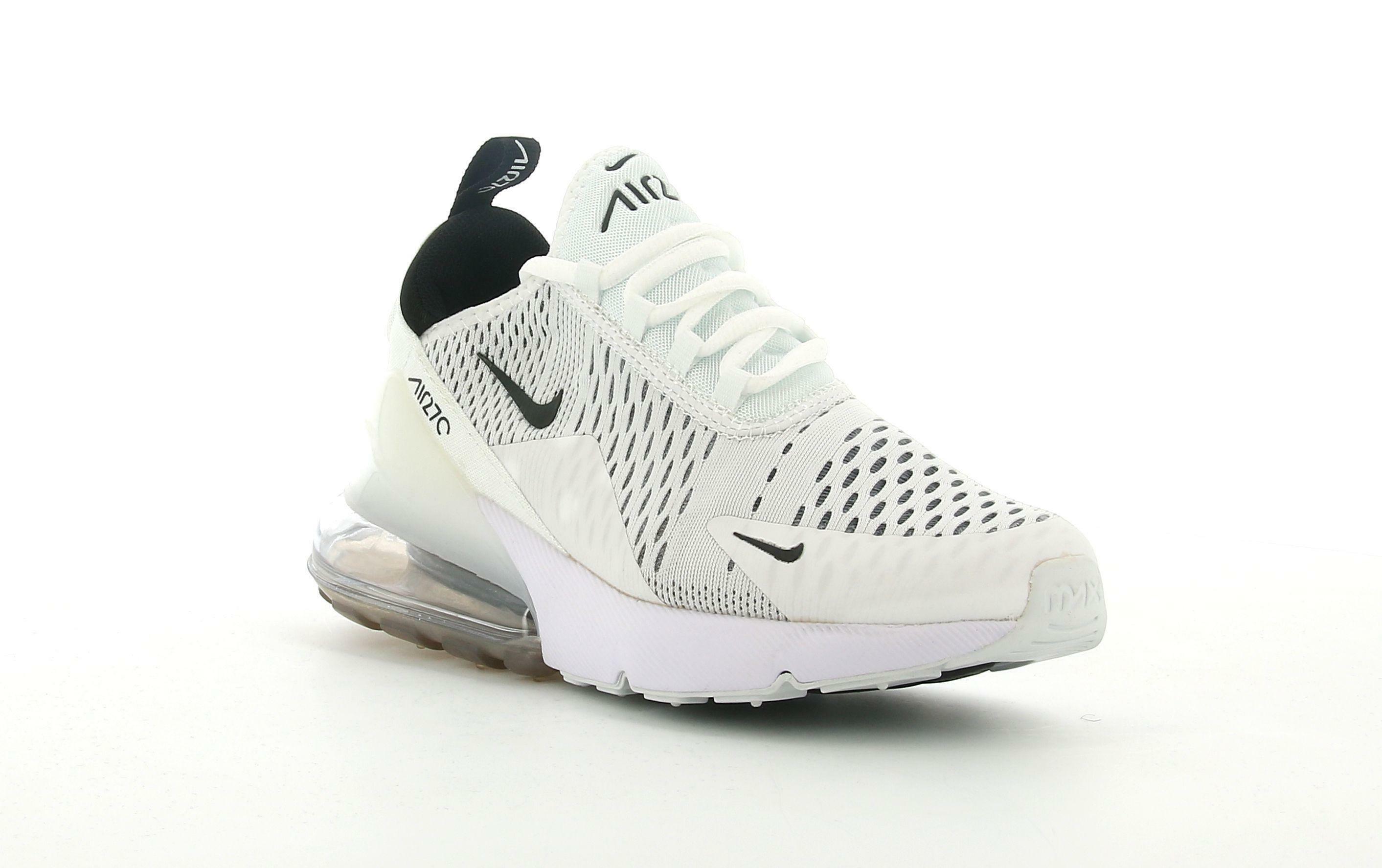nike nike w air max 270 ah6789 100 sneaker bassa donna bianca