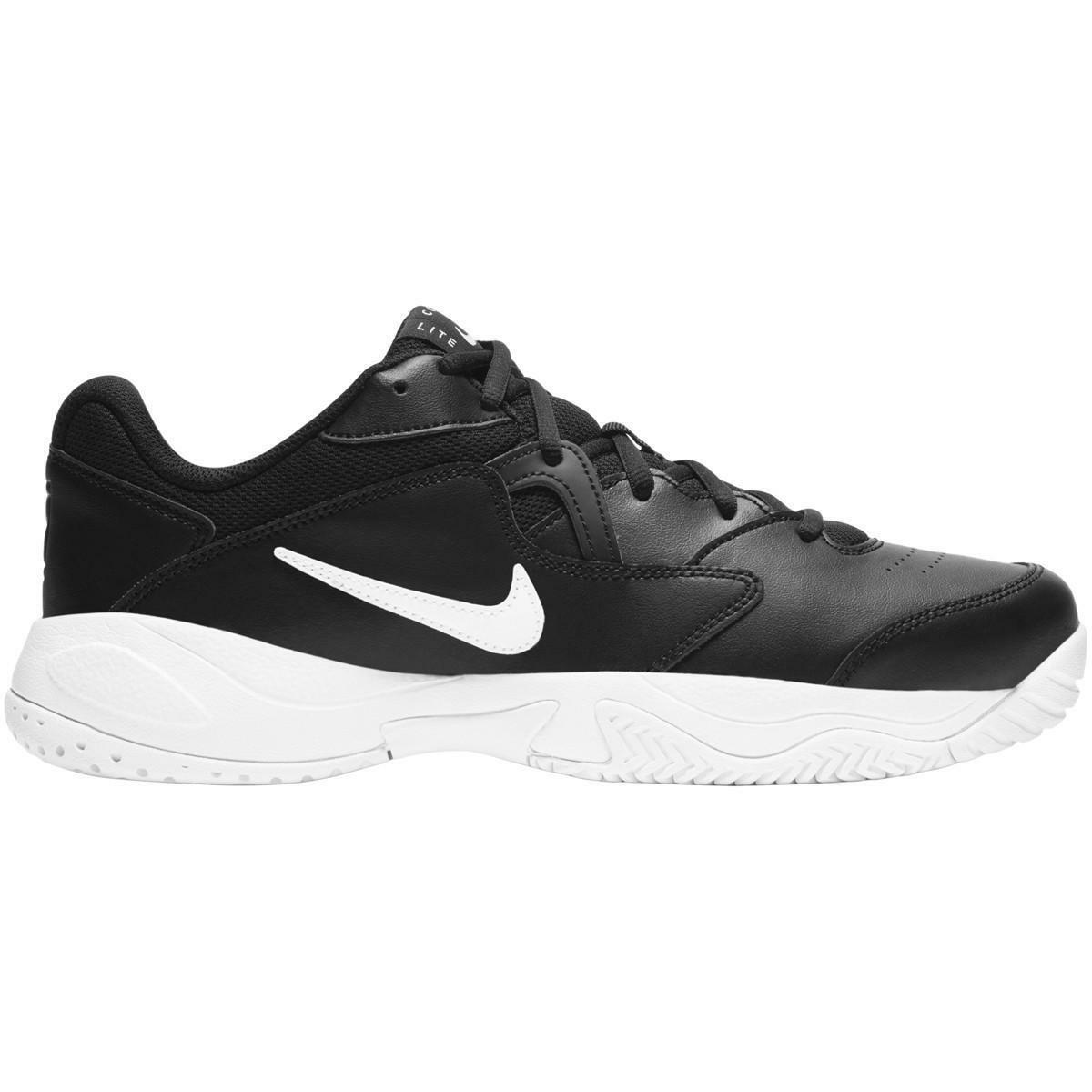 nike nike court lite 2 ar8836 005 scarpa sportiva tennis uomo nero