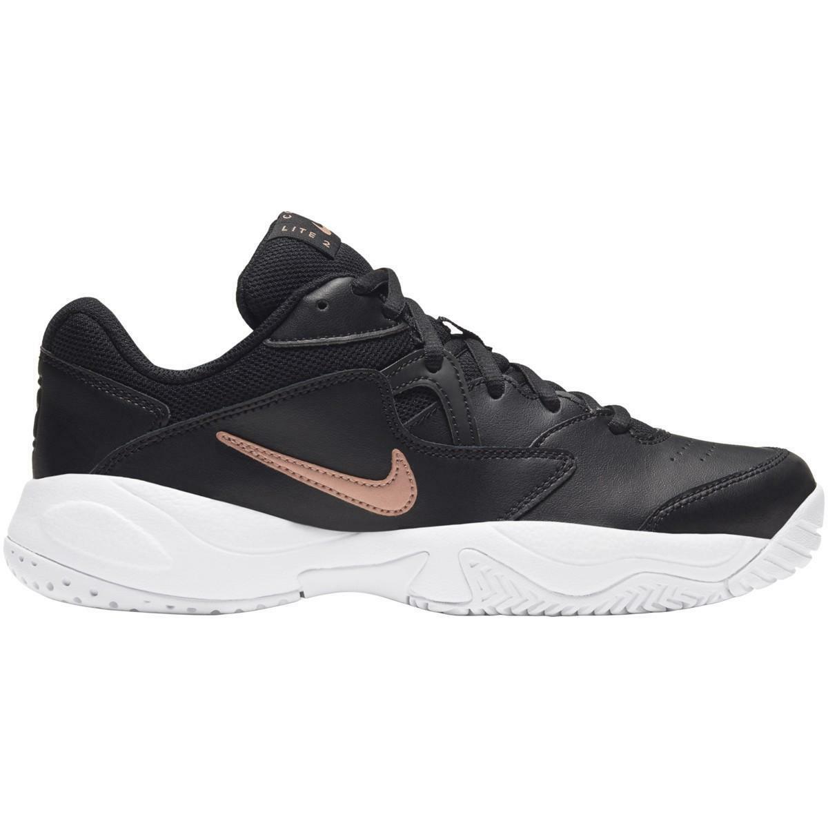 nike nike court lite 2 ar8838 003 scarpa sportiva tennis nero