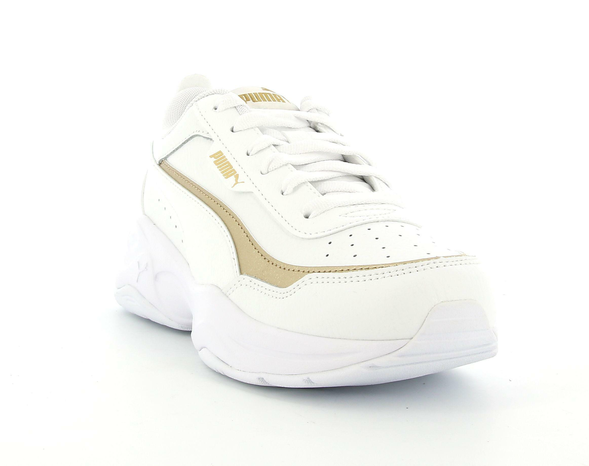 puma puma cilia mode lux 375732 002 sportiva lacci donna bianco