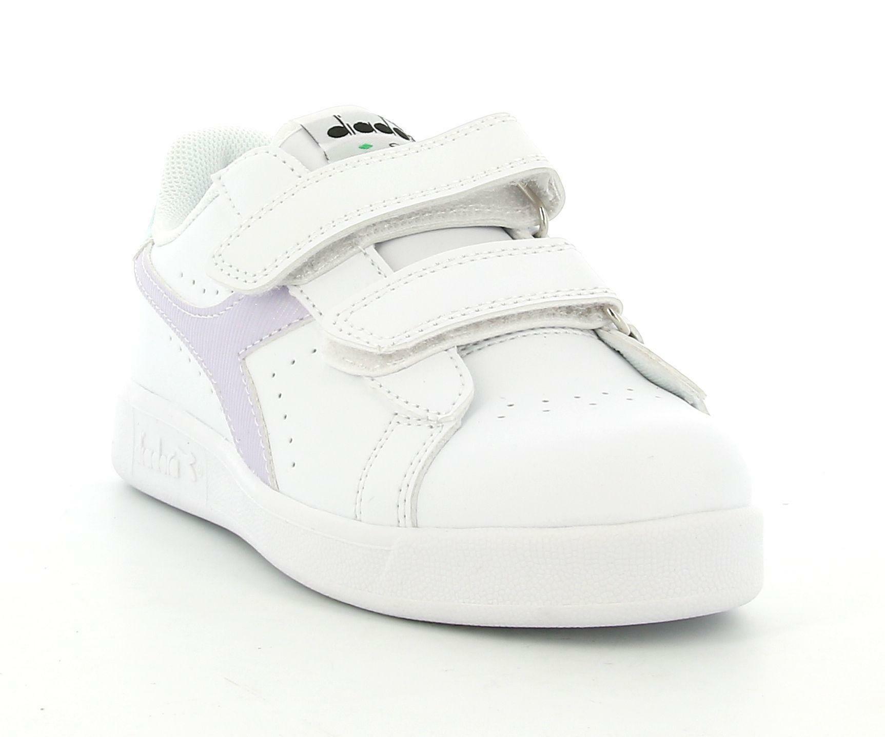 diadora diadora game p ps girl 177016 scarpa sportiva bambina bianco