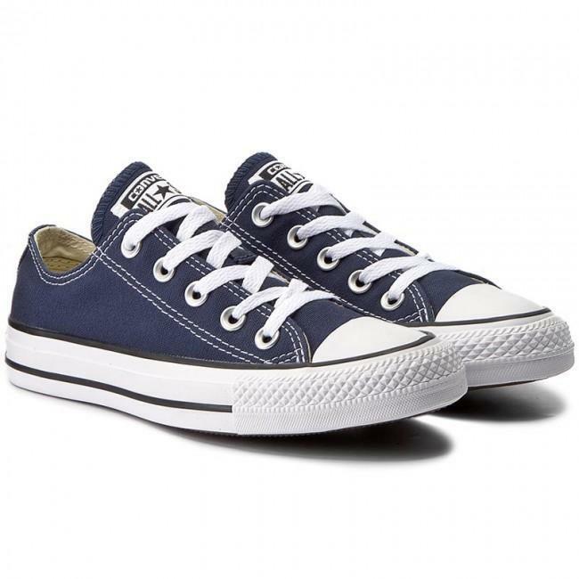 converse converse all star ox unisex m9697c blu