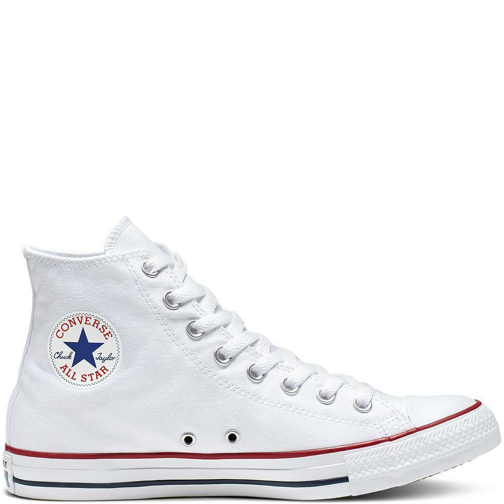 converse all star hi unisex m7650c bianco