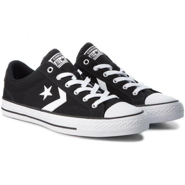 converse converse star player ox bambino 663656c nero