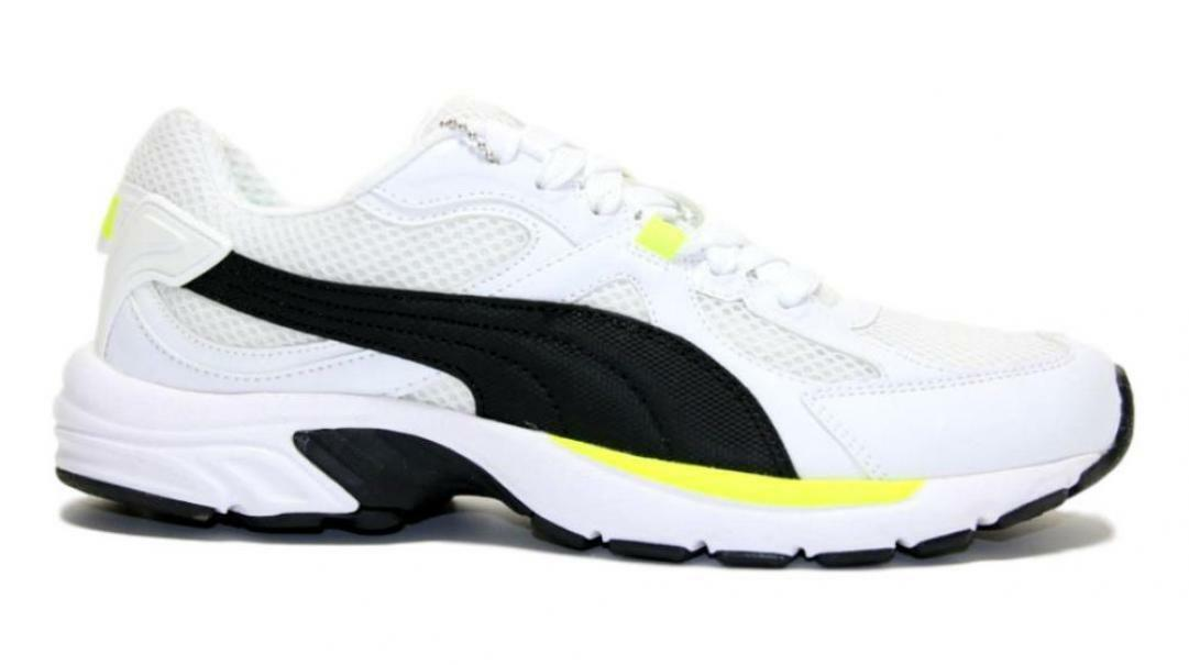 puma axis plus 90s uomo  scarpa running 370287 017 bianco