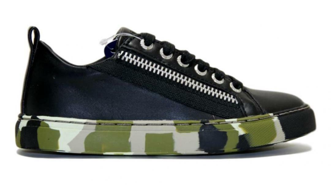 guess sneakers bassa 7luiele12 militare bambino