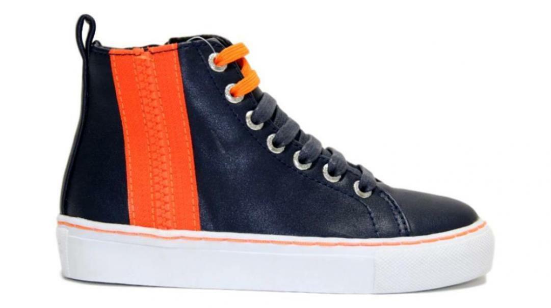 guess guess sneaker alta sneaker alta bambino 7lhiele12 blu