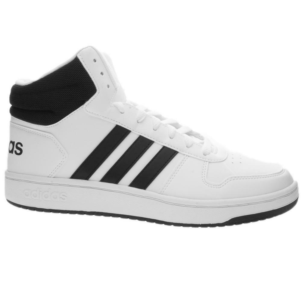 adidas adidas hoops 2.0 mid uomo bb7208 sneaker alta