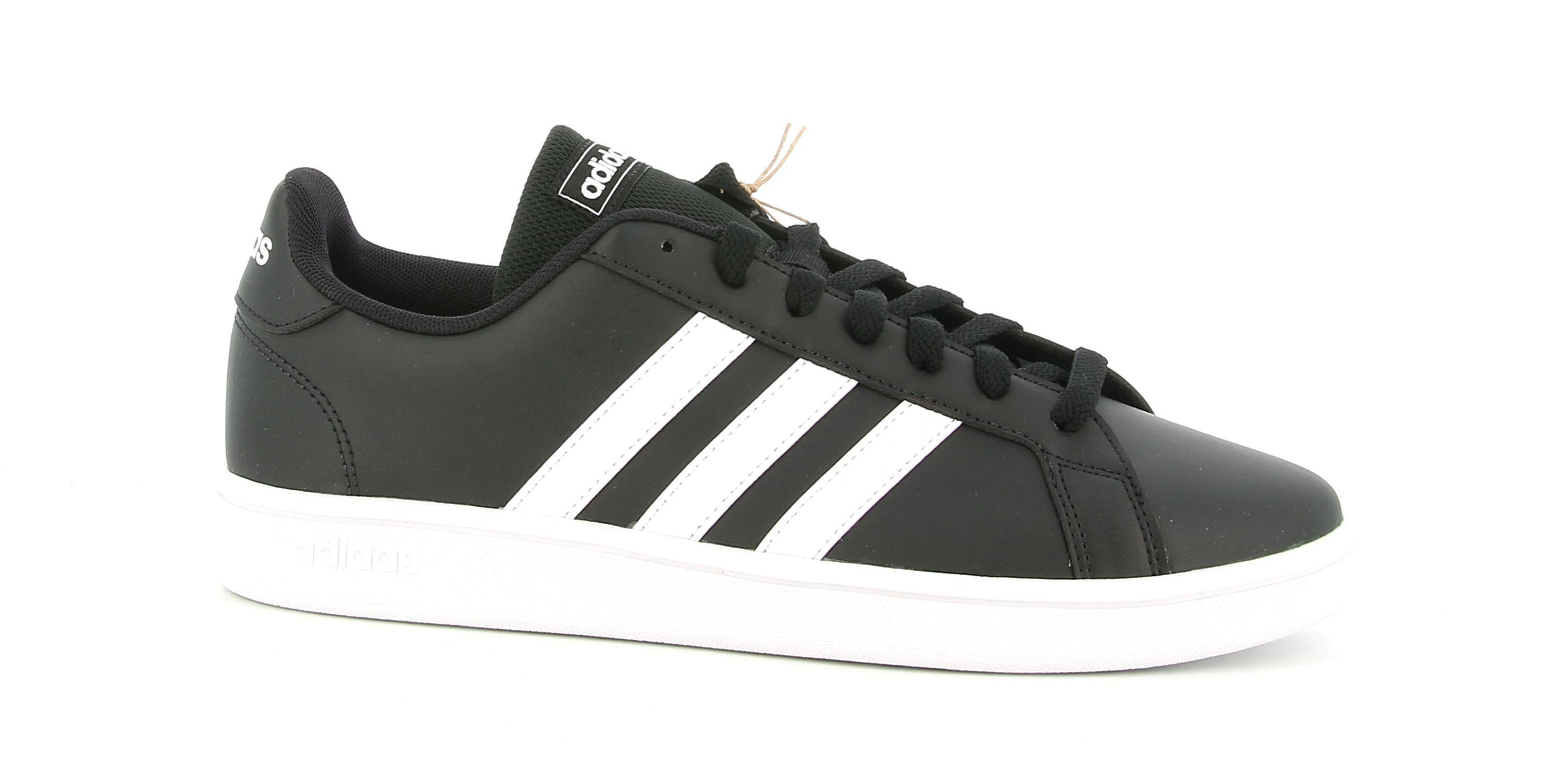 adidas adidas grand court base uomo sneaker sportiva ee7900 nero