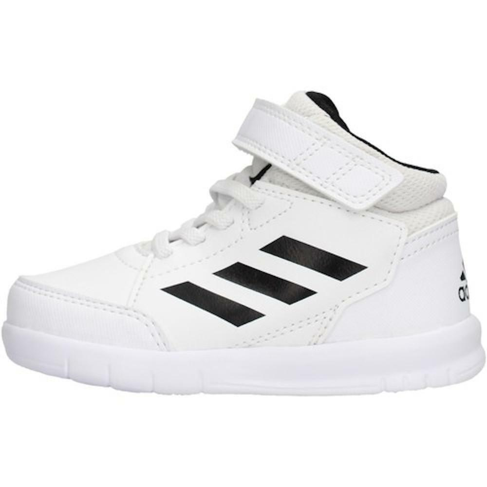 adidas altasport mid i bambino sneaker alta g27125 bianco