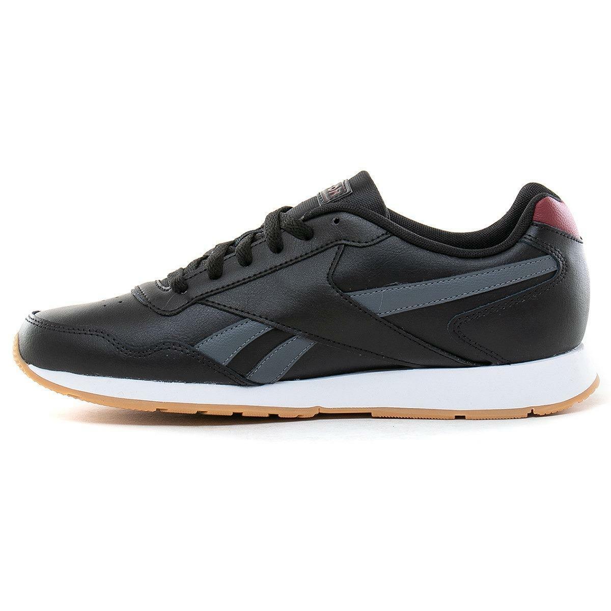 reebok royal glide uomo sneaker sportiva dv6710 nero