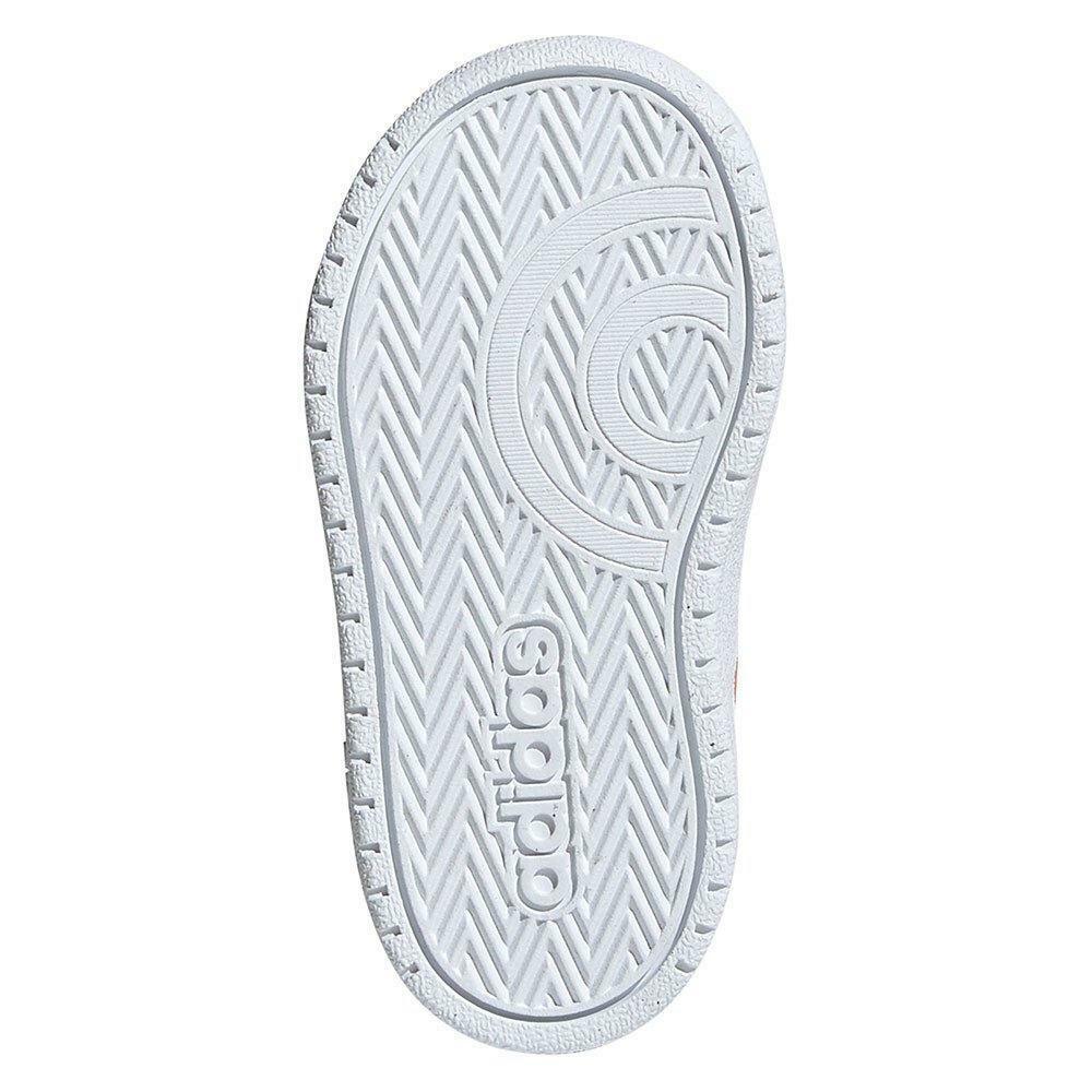 adidas hoops 2.0 cmf i bambina strappo sportivo ee6730 bianco
