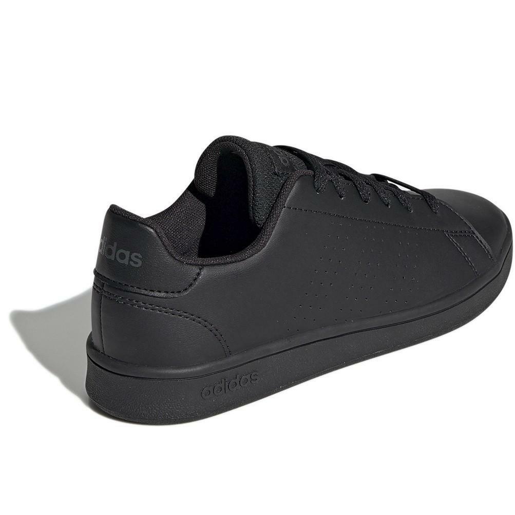adidas adidas advantage k bambino sneaker bassa  ef0212 nero